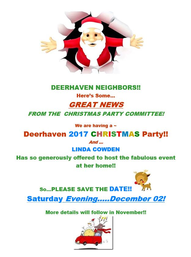 Deerhaven 2017 Christmas Party